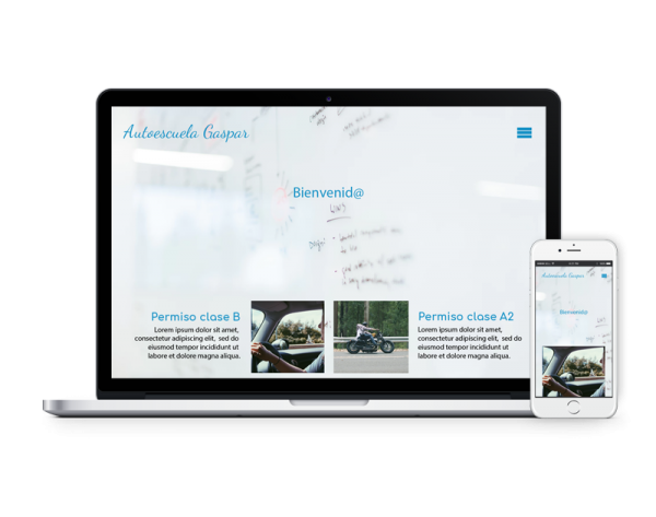 Diseño web autoescuela