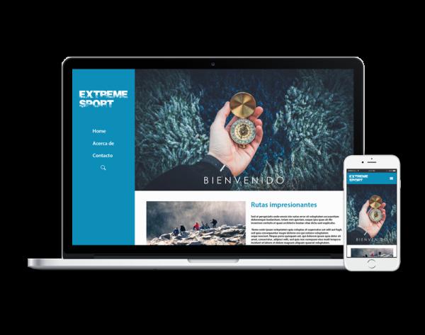 Diseño web aventura