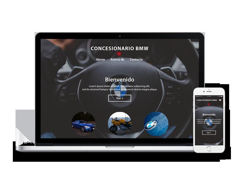 Diseño web concesionario