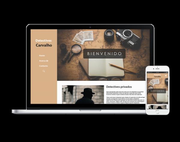 Diseño web detective