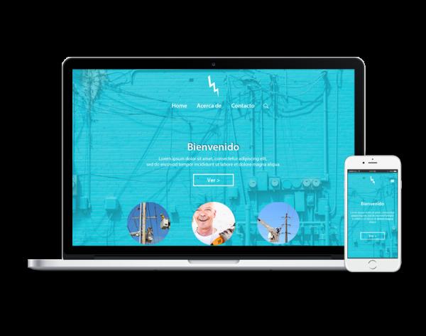 Diseño web electricidad
