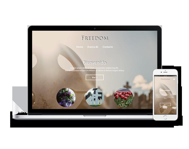 Diseño web funeraria