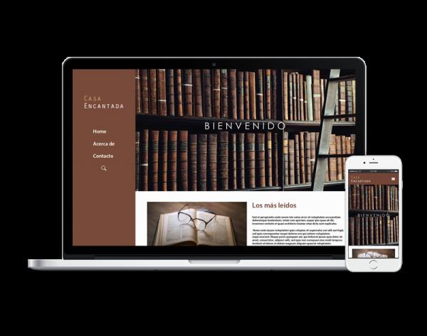 Diseño web libreria