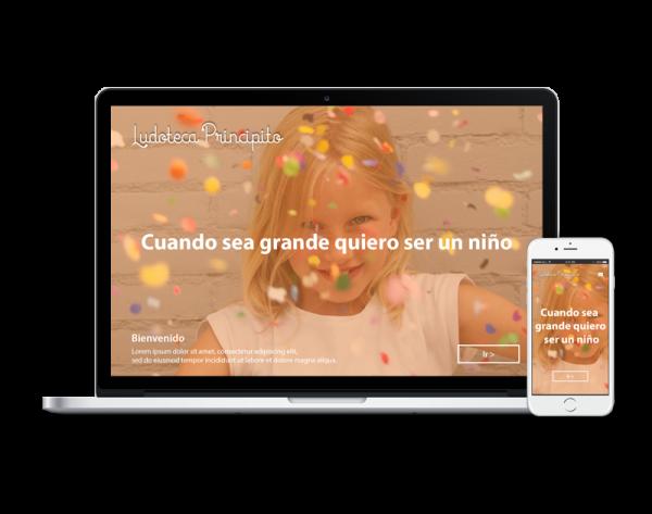 Diseño web ludoteca
