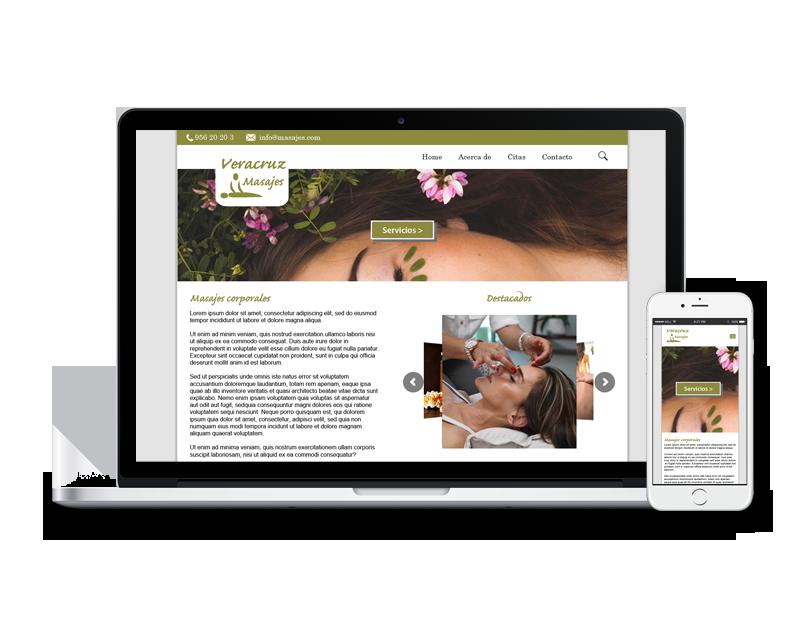 sitio web masaje coño