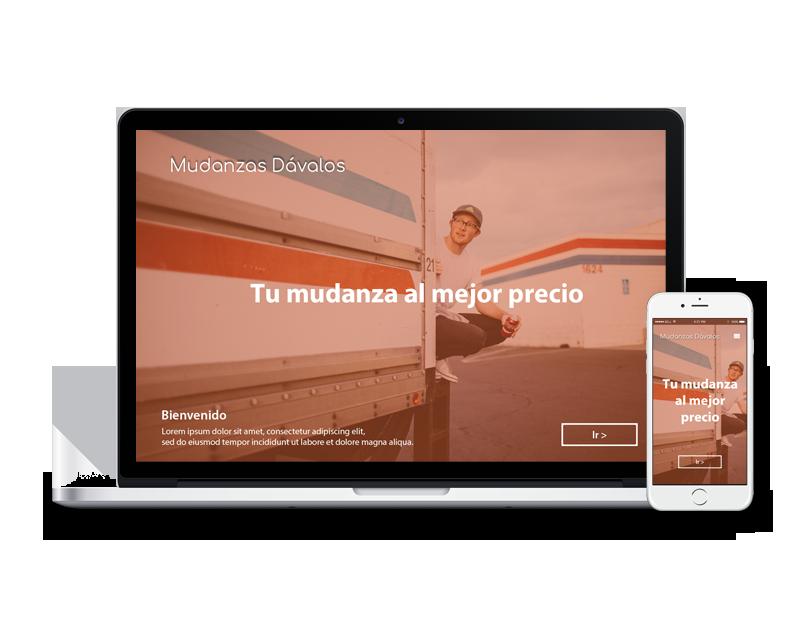Diseño web mudanza