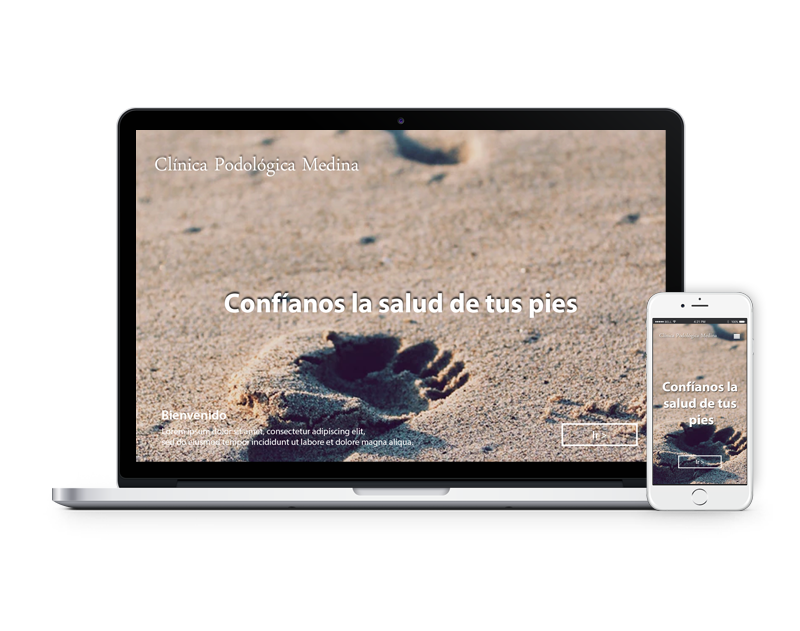 Diseño web podólogo