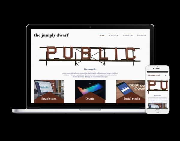 Diseño web marketing