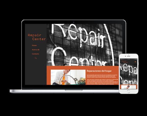 Diseño web reparaciones