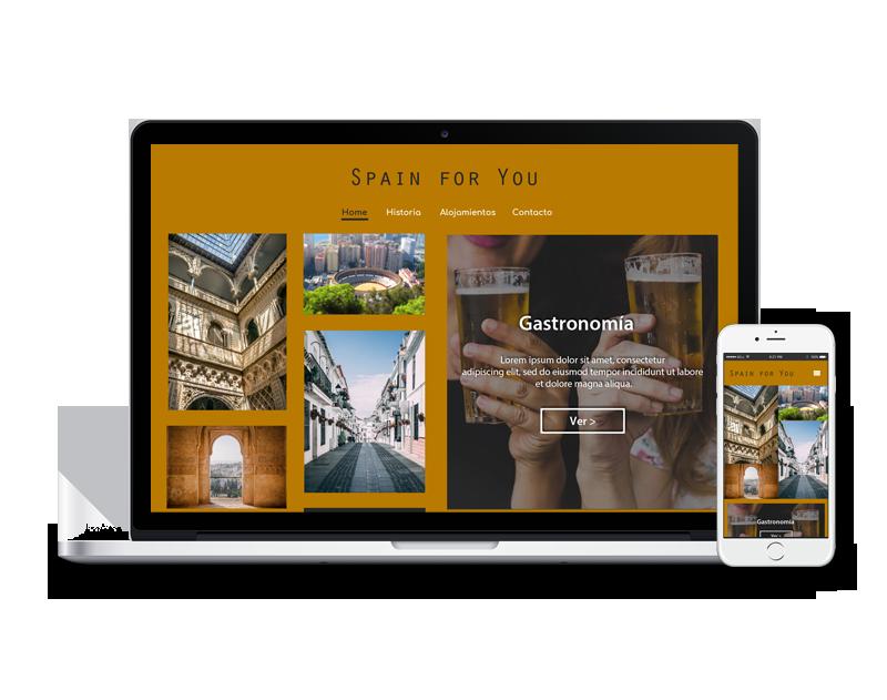 Diseño web turistica